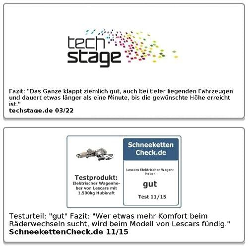 Lescars Elektrischer Wagenheber - 6